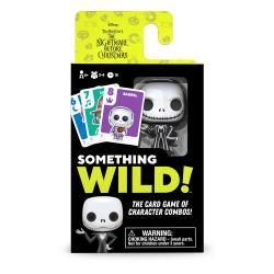 Pesadilla antes de Navidad Caja de 4  Juegos de Cartas Something Wild! *Edición Inglés* - Imagen 1