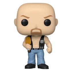 WWE POP! Vinyl Figura SC Steve Austin w/Belt 9 cm - Imagen 1