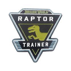 Jurassic World Chapa Raptor - Imagen 1