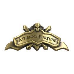 Sea of Thieves Réplica Athena's Fortune Ship Plaque Antique - Imagen 1