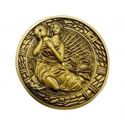 Resident Evil 2 Réplica 1/1 Medallón Maiden - Imagen 1