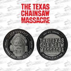 La Matanza de Texas Moneda Leatherface Limited Edition - Imagen 1