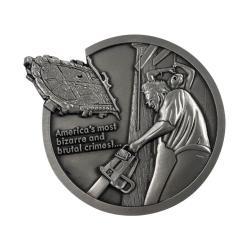La Matanza de Texas Medallón Logo Limited Edition - Imagen 1