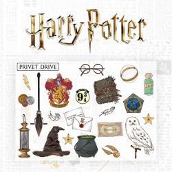 Harry Potter Set de Pegatinas Characters - Imagen 1