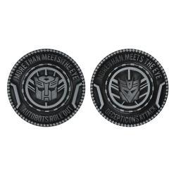 Transformers Pack de 2 Medallóns Autobots & Decepticons Limited Edition - Imagen 1