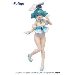 Hatsune Miku Estatua PVC BiCute Bunnies Hatsune Miku White Rabbit Pearl Color ver. - Imagen 1