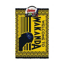Black Panther Felpudo Welcome to Wakanda 40 x 60 cm - Imagen 1