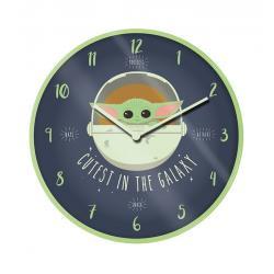 Star Wars The Mandalorian Reloj de Pared Cutest In The Galaxy - Imagen 1