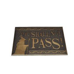 El Señor de los Anillos Felpudo You Shall Not Pass 40 x 60 cm - Imagen 1