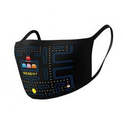 Pac-Man Pack de 2 máscaras de tela Maze Ready - Imagen 1