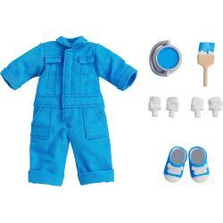 Original Character Accesorios para las Figuras Nendoroid Doll Outfit Set Colorful Coveralls - Blue - Imagen 1