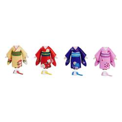 Nendoroid More 4 Accesorios para las Figuras Nendoroid Dress-Up Coming of Age Ceremony Furisode - Imagen 1