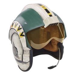 Star Wars Episode IV Black Series Casco Electrónico Wedge Antilles Battle Simulation Helmet - Imagen 1