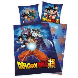 Dragon Ball Super Funda Nórdica Characters 135 x 200 cm / 80 x 80 cm - Imagen 1