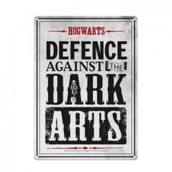 Harry Potter Placa de Chapa Dark Arts 21 x 15 cm - Imagen 1