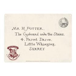 Harry Potter Placa de Chapa Letters 21 x 15 cm - Imagen 1