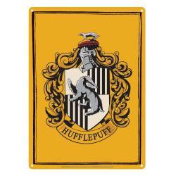 Harry Potter Placa de Chapa Hufflepuff 21 x 15 cm - Imagen 1