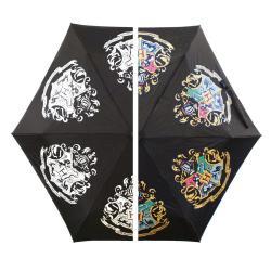 Harry Potter Paraguas que cambia los colores Hogwarts Slogan - Imagen 1