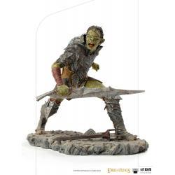 El Señor de los Anillos Estatua 1/10 BDS Art Scale Swordsman Orc 16 cm - Imagen 1