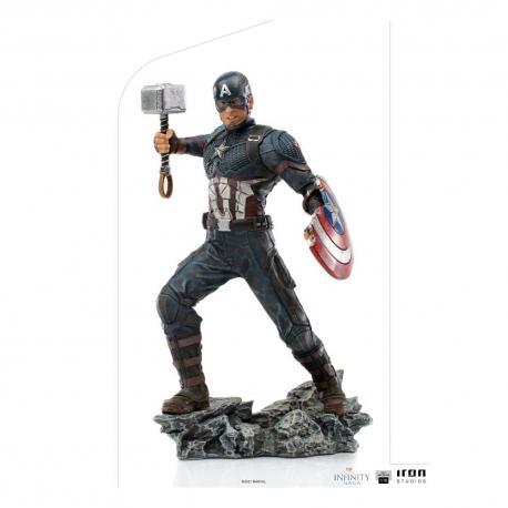 The Infinity Saga Estatua BDS Art Scale 1/10 Captain America Ultimate 21 cm - Imagen 1