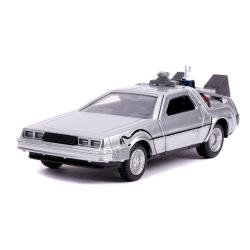 Regreso al Futuro II Réplica Vehículo Diecast Model Hollywood Rides 1/32 DeLorean Time Machine - Imagen 1