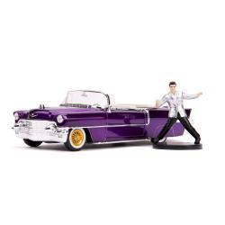 Elvis Presley Vehículo 1/24 Hollywood Rides 1956 Cadillac Eldorado con Figura - Imagen 1