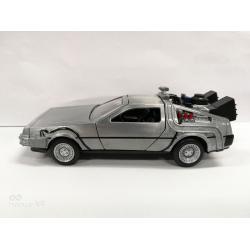 Regreso al Futuro Réplica Vehículo Diecast Model Hollywood Rides 1/32 DeLorean Time Machine - Imagen 1