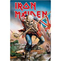 Iron Maiden Placa de Chapa Trooper 20 x 30 cm - Imagen 1