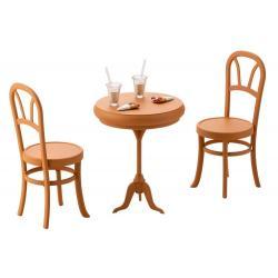 Sousai Shojo Teien Accesorios 1/10 After School Cafe Table 8 cm - Imagen 1