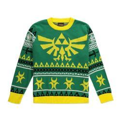 Legend of Zelda Suéter Christmas Hyrule Bright talla M - Imagen 1