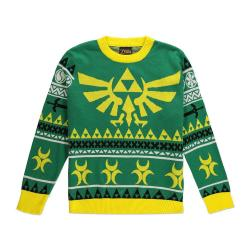 Legend of Zelda Suéter Christmas Hyrule Bright talla XL - Imagen 1