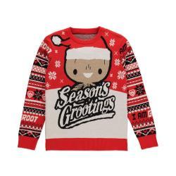 Guardianes de la Galaxia Suéter Christmas Season's Grootings talla M - Imagen 1