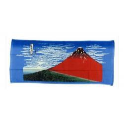 Ukiyo-e Toalla Katsushika Hokusai Kaifu 34 x 80 cm - Imagen 1
