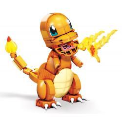 Pokémon Kit de Construcción Mega Construx Wonder Builders Charmander 10 cm - Imagen 1
