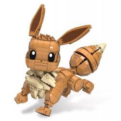 Pokémon Kit de Construcción Mega Construx Wonder Builders Jumbo Eevee 29 cm - Imagen 1