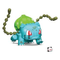 Pokémon Kit de Construcción Mega Construx Wonder Builders Bulbasaur 10 cm - Imagen 1