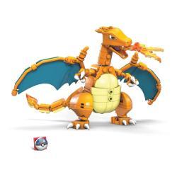 Pokémon Kit de Construcción Mega Construx Wonder Builders Charizard 10 cm - Imagen 1