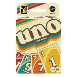UNO Juego de Cartas Iconic Series Anniversary Edition 1970's - Imagen 1