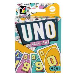 UNO Juego de Cartas Iconic Series Anniversary Edition 1990's - Imagen 1