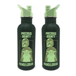 Star Wars The Mandalorian Botella de Agua Precious Bounty - Imagen 1