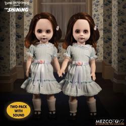 El resplandor Living Dead Dolls Set de 2 Muñecos con sonido The Grady Twins 25 cm - Imagen 1