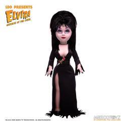 Elvira Mistress of the Dark Living Dead Dolls Muñeco Elvira 25 cm - Imagen 1