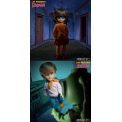 Scooby-Doo! misterios S.A. Build A Figure Living Dead Dolls Muñecos 25 cm Velma & Fred Surtido (6) - Imagen 1