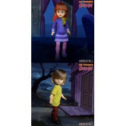 Scooby-Doo! misterios S.A. Build A Figure Living Dead Dolls Muñecos 25 cm Daphne & Shagg Surtido (6) - Imagen 1