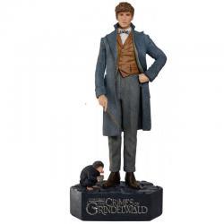 Animales fantásticos 2 Estatua tamaño real Newt Scamander 215 cm - Imagen 1