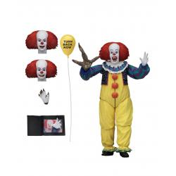 Stephen King's It 1990 Figura Ultimate Pennywise Version 2 18 cm - Imagen 1
