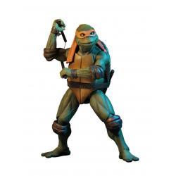Tortugas Ninja Figura 1/4 Michelangelo 42 cm - Imagen 1