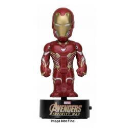 Vengadores Infinity War Figura Movible Body Knocker Iron Man 16 cm - Imagen 1