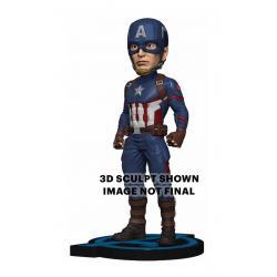 Vengadores: Endgame Cabezón Head Knocker Captain America 20 cm - Imagen 1