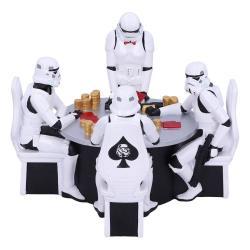 Star Wars Diorama Stormtrooper Poker Face 18 cm - Imagen 1
